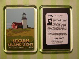 Alan Claude's Refrigerator Magnet