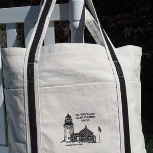 Seguin Island Canvas Tote Bag
